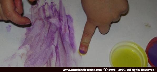 Recetas de Manualidades: Pintura de dedos