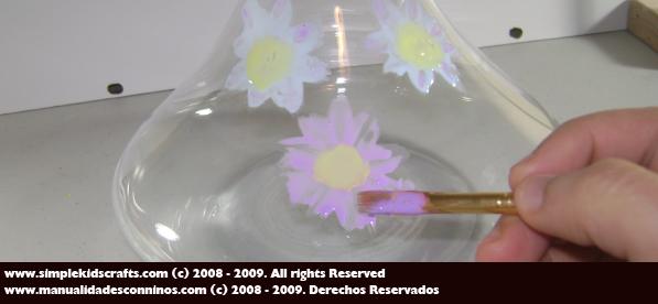 Recetas de Manualidades: Pintura de vidrio casera